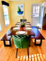 5new 8 seat dining table