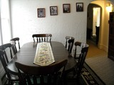 Dining room table long view