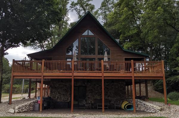 Rustic Luxury Estate On Lake Freeman