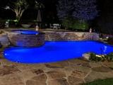 Pool   rear facing