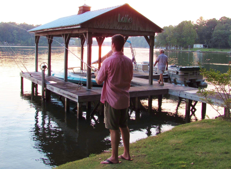 Fish at the dock