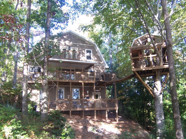Clemson Lake House  with Tree House!