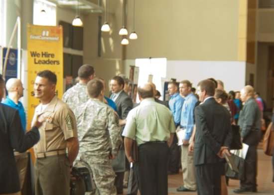 veteran job fairs