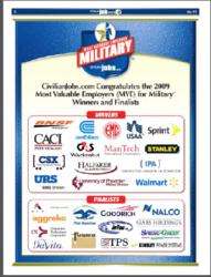 2009 MVE Winners