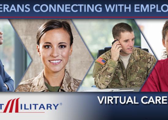 Hire a Veteran at a RecruitMilitary Virtual Career Fair