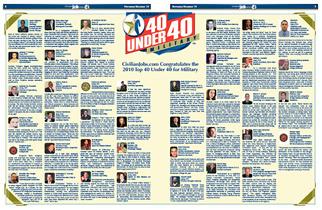 2010 Top 40 Under 40 Winners