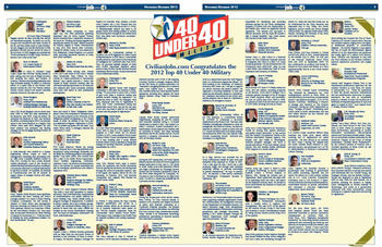 2012 Top 40 Under 40 Winners