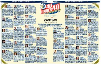 2013 Top 40 Under 40 Winners