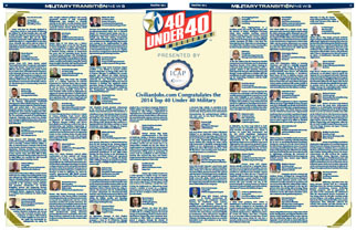2014 Top 40 Under 40 Winners