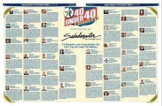 2015 Top 40 Under 40 Winners