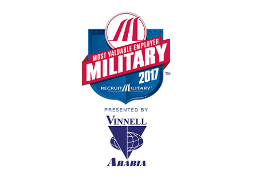 RecruitMilitary Announces the 2017 Most Valuable Employers (MVE) for Military® Winners