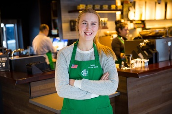 A Tradition of Service: Veterans Become Partners at Starbucks