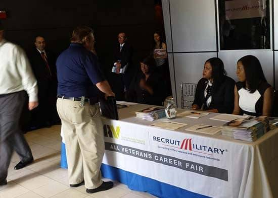 Jobs For Veterans Veterans Job Fairs RecruitMilitary