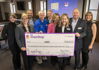 Stop & Shop USO Fundraiser