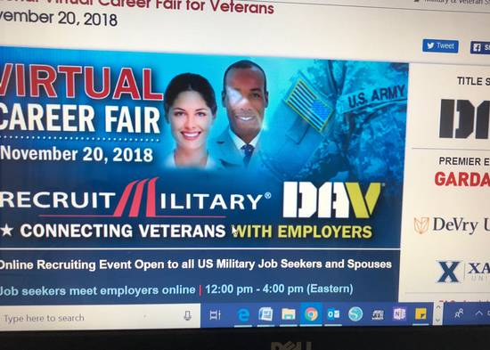 RecruitMilitary Virtual Career Fairs Deliver Instant Access to Veteran Talent