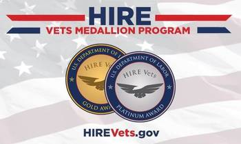 Do You Know About the DoL's HIRE Vets Medallion Award?