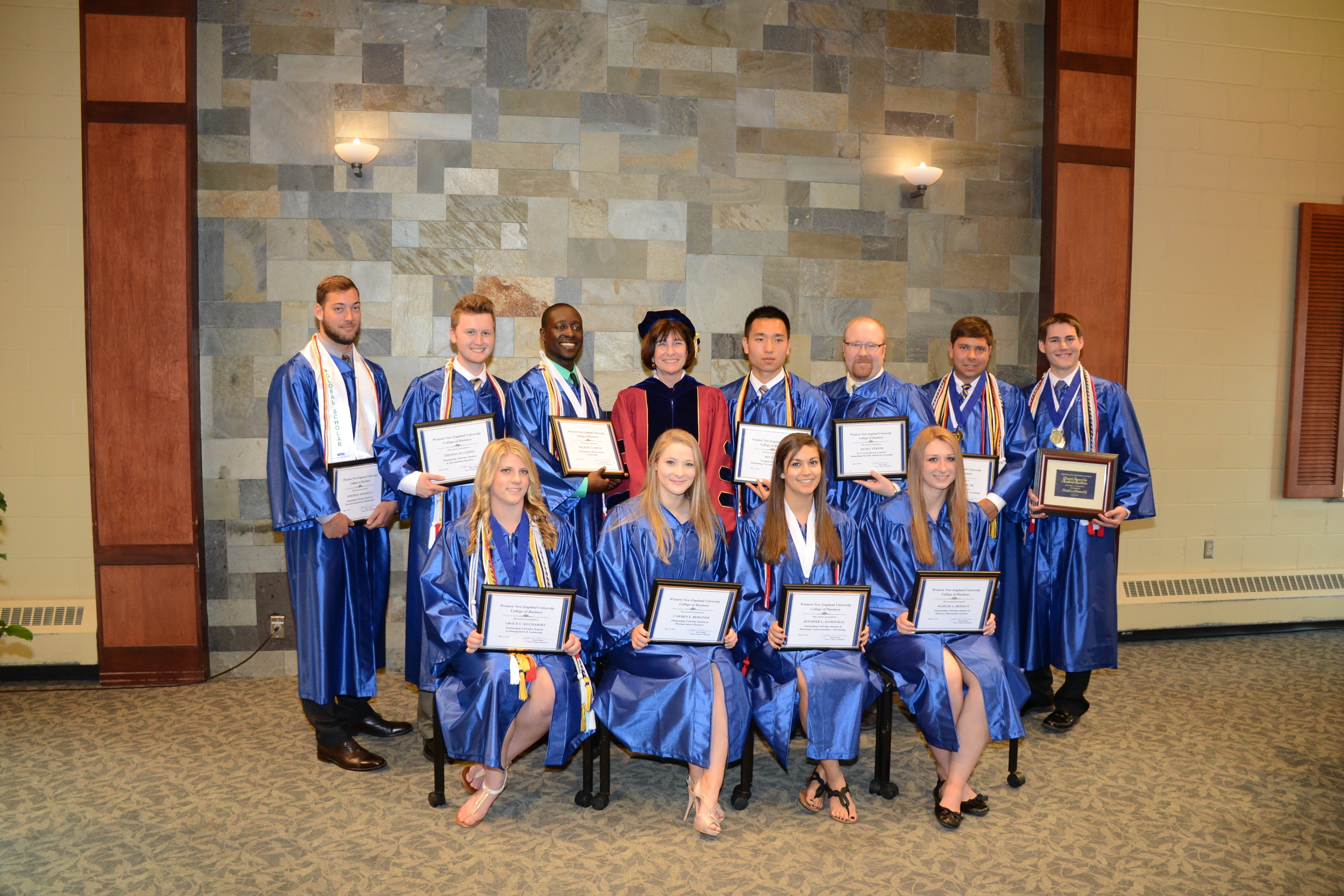 1435847968 2015 college of business honors ceremony honorees