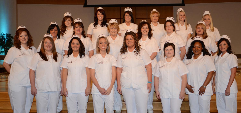 Nursing pinning group