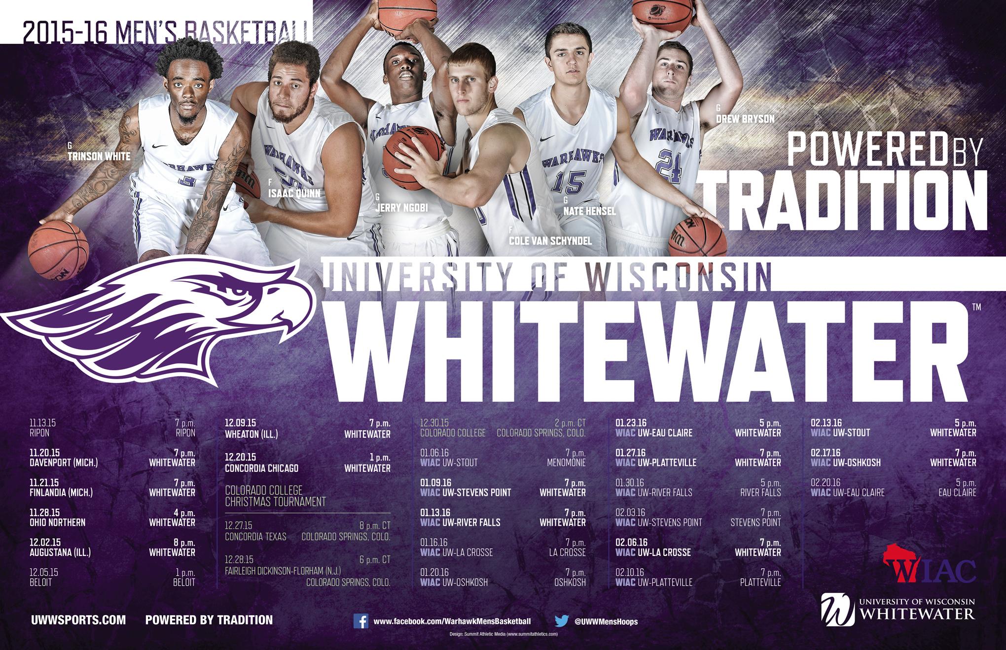 1447779341 2015 uw whitewater men's basketball poster final