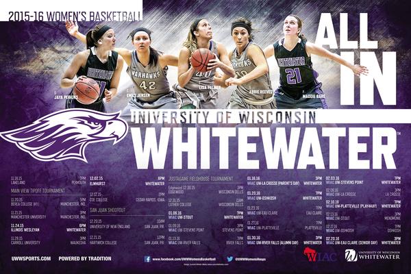 1447780631 2015 uw whitewater women's basketball poster final