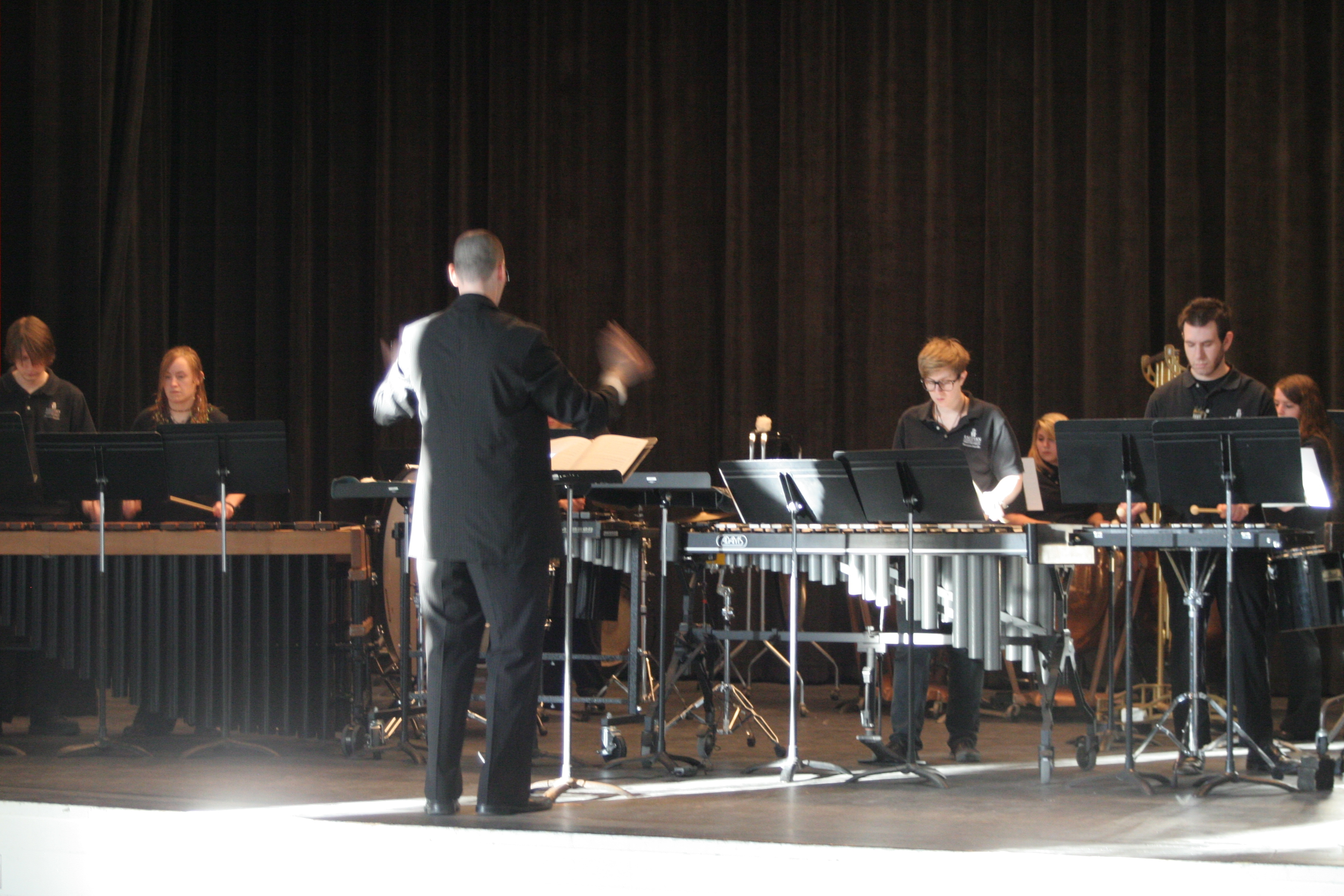 Photopercussion ensemble