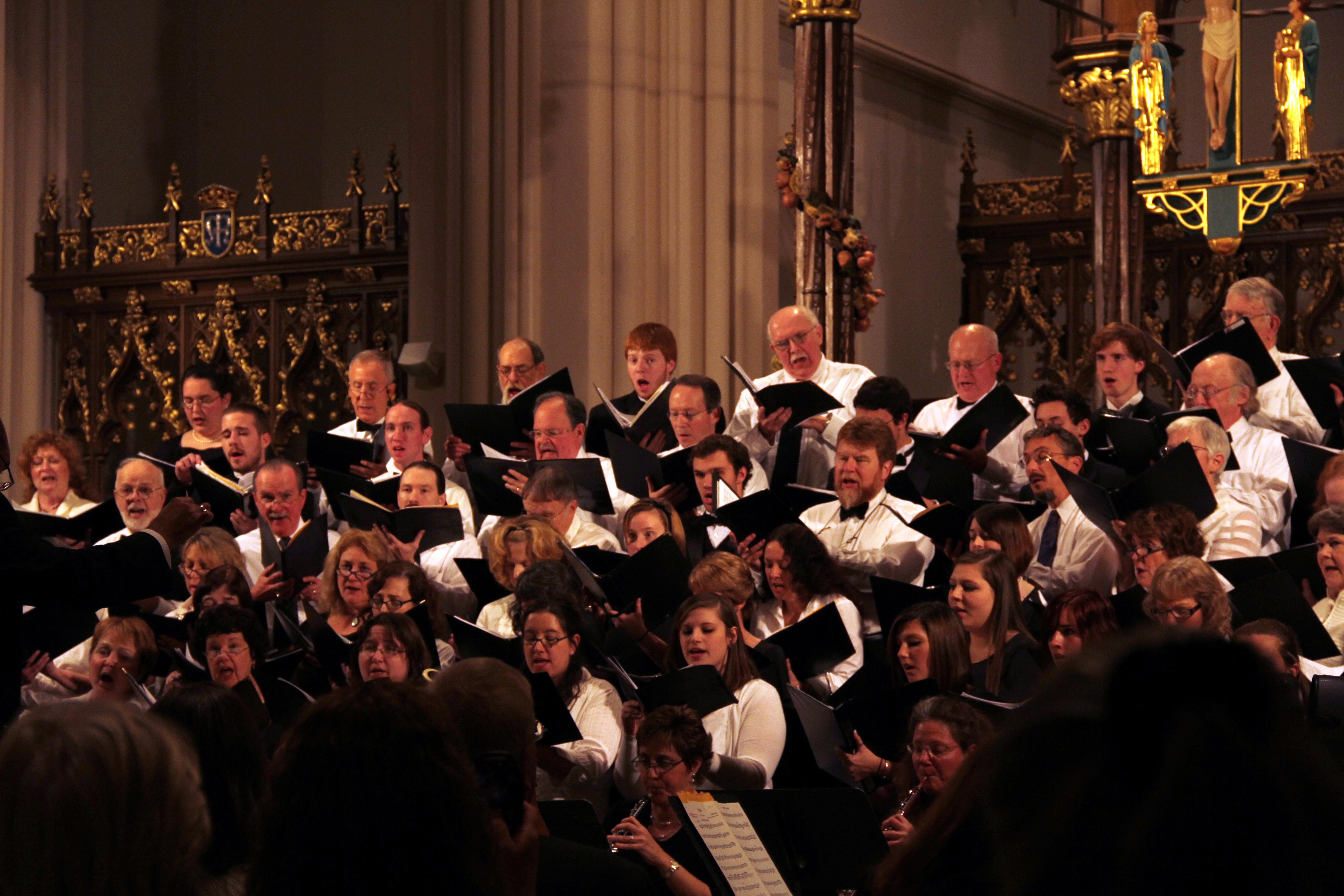 Norwich chorale concert