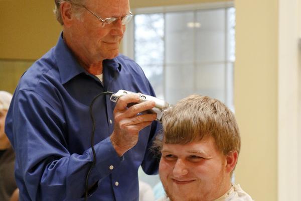 1457731913 sigma pi head shaving joe weeks shaves dillan bever