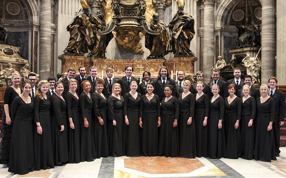 Chorale at the vatican