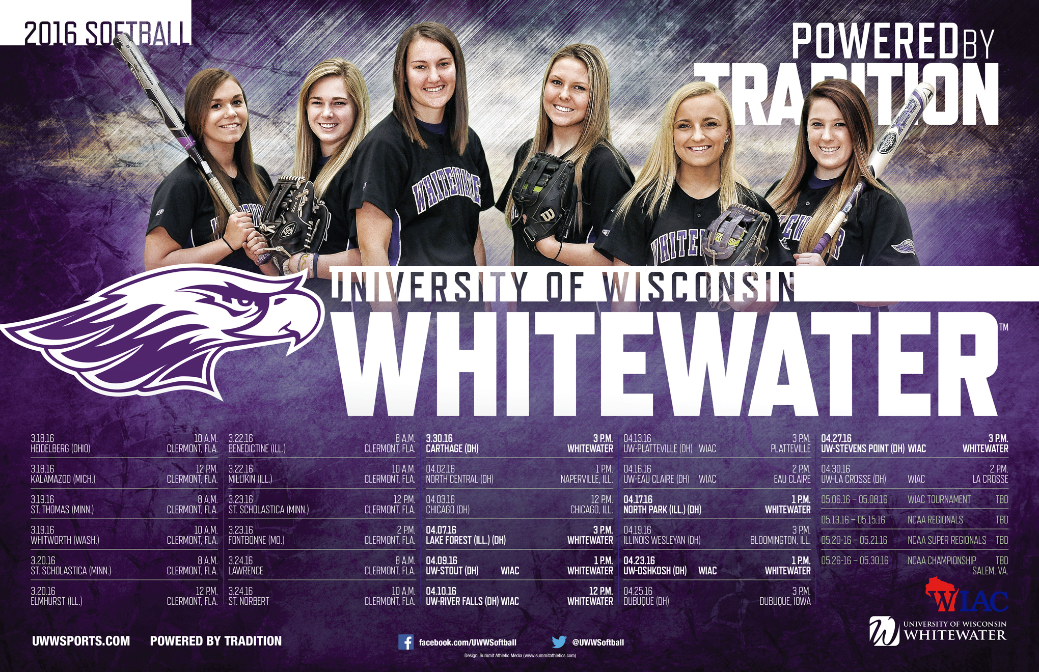 1458136476 2016 uw whitewater softball poster final