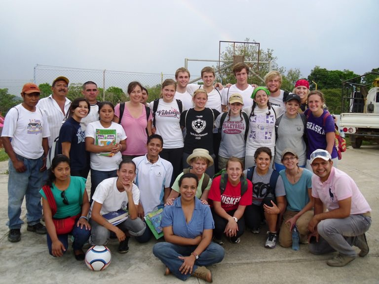 Concordia university nebraska guatamala mission team