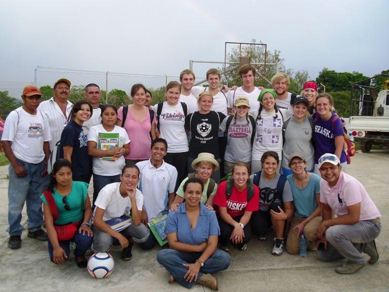Concordia university nebraska guatamala mission team