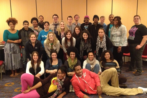 Social justice institue participants from lebanon valley college
