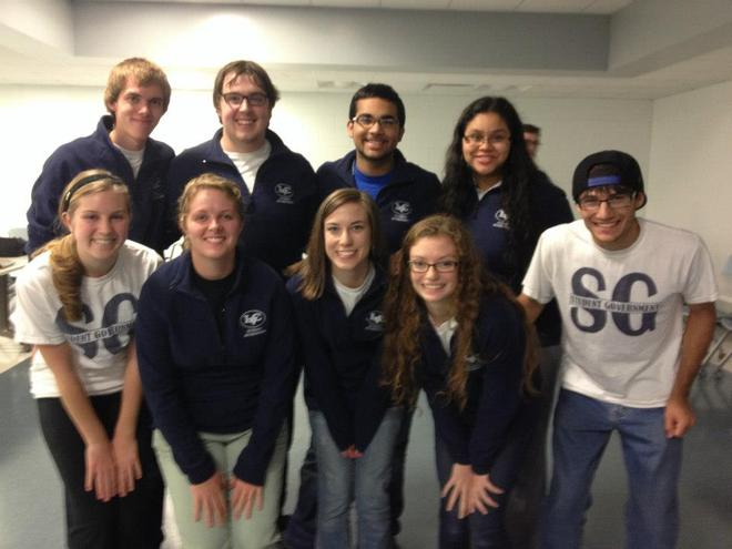 Lebanon valley college freshman class student government officers