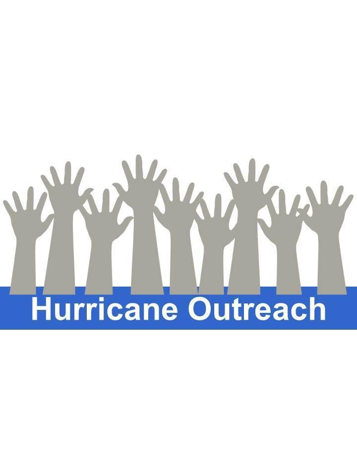 Hurricane outreach logo