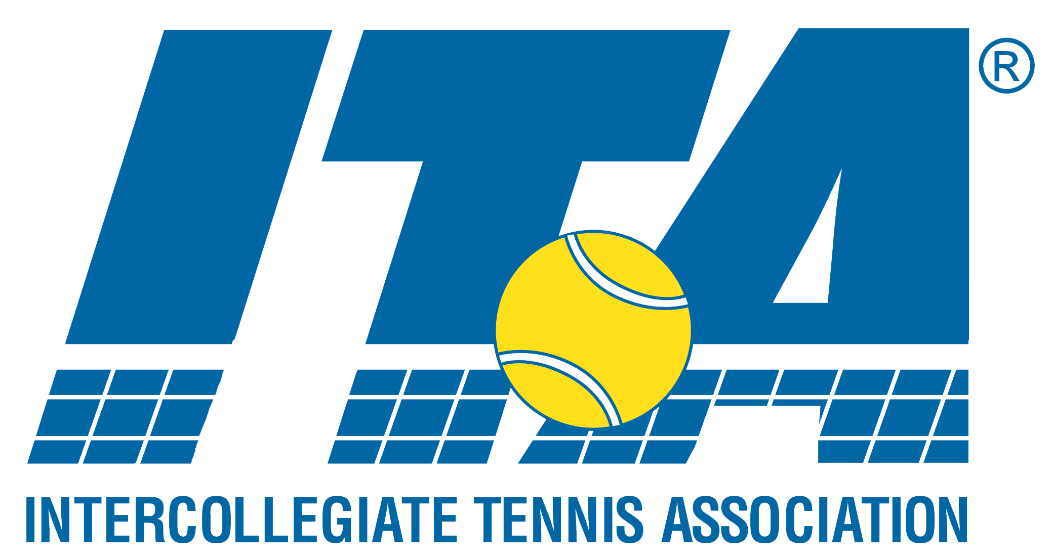 Intercollegiate tennis association logo copy