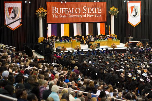 Audience graduates