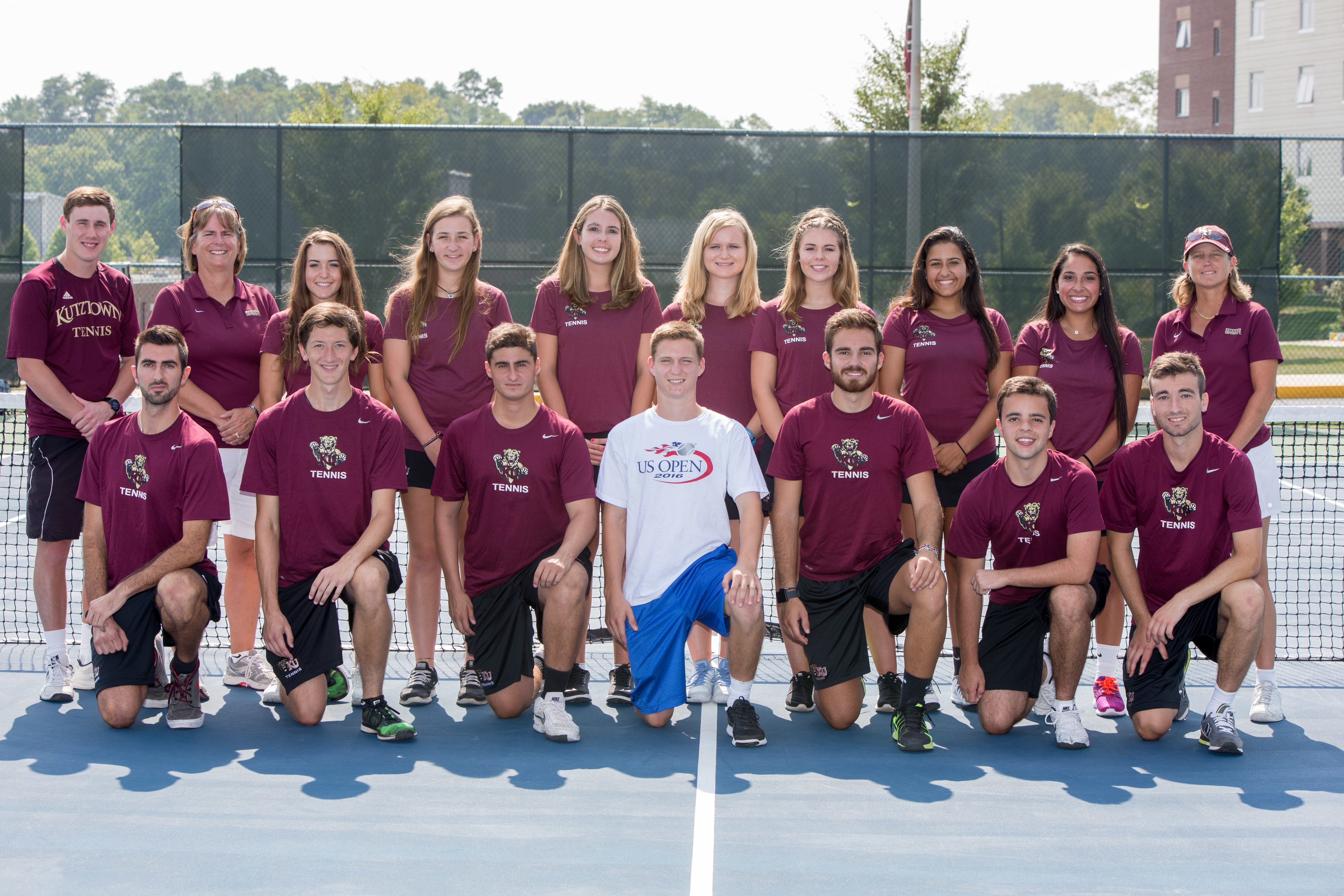 Tennis teams 2016