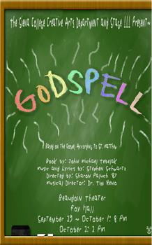 Godspell program final 1