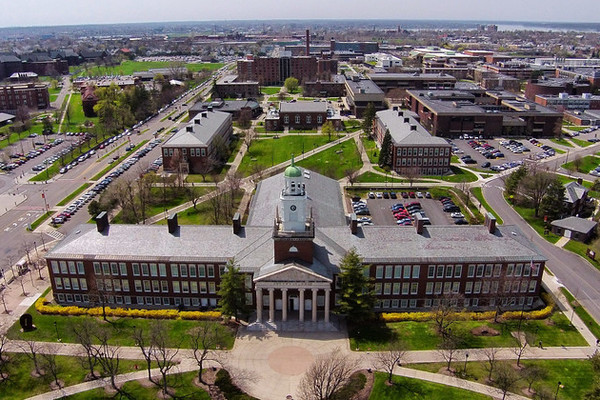 Rockwell hall aerial