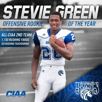 Stevie green oroy 16 3