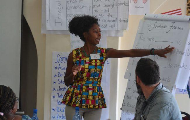 Gs alumna tackles illiteracy