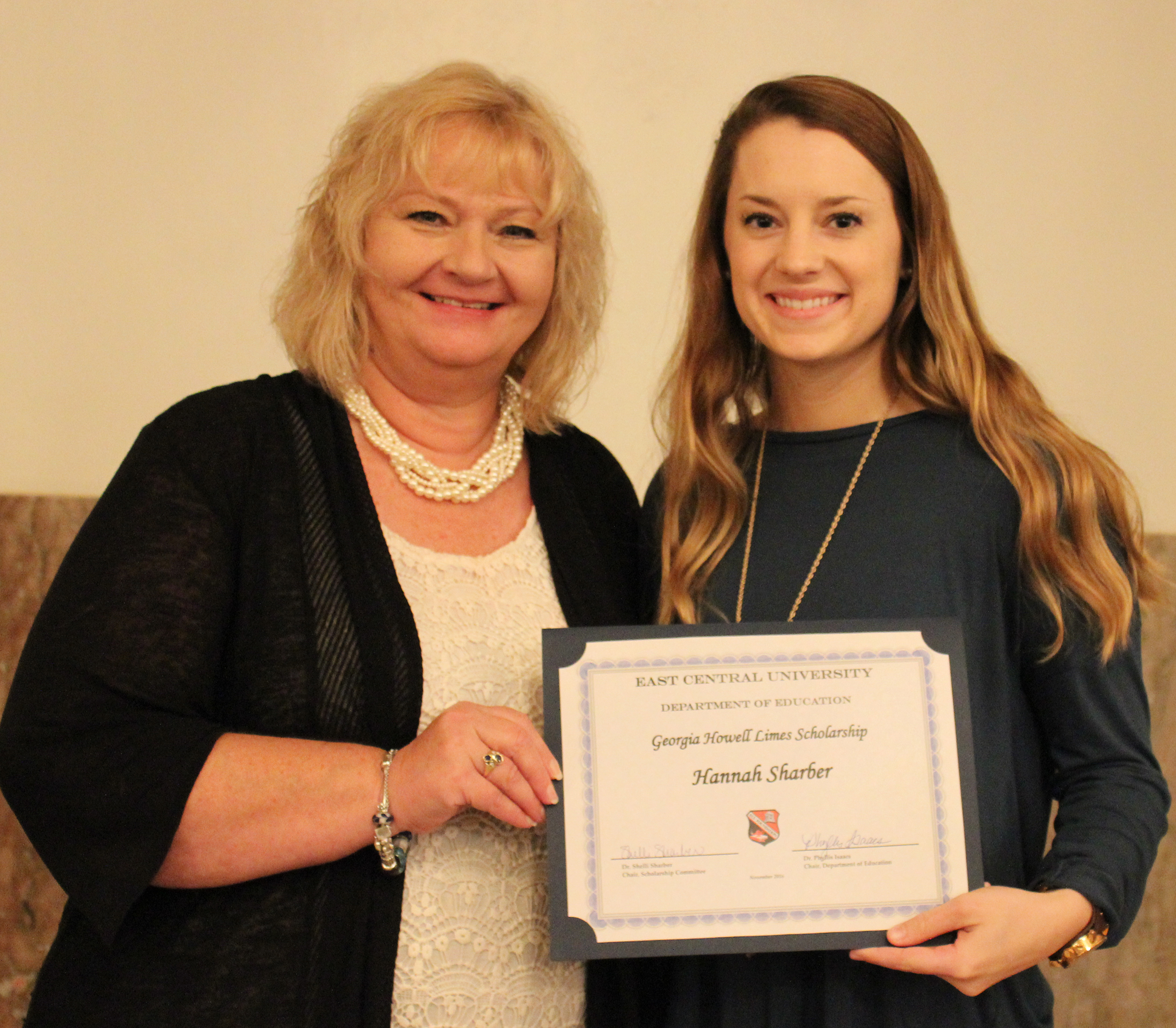 Hannah sharber 3 scholarships