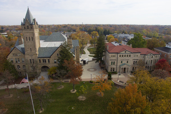 Ohio wesleyan campus