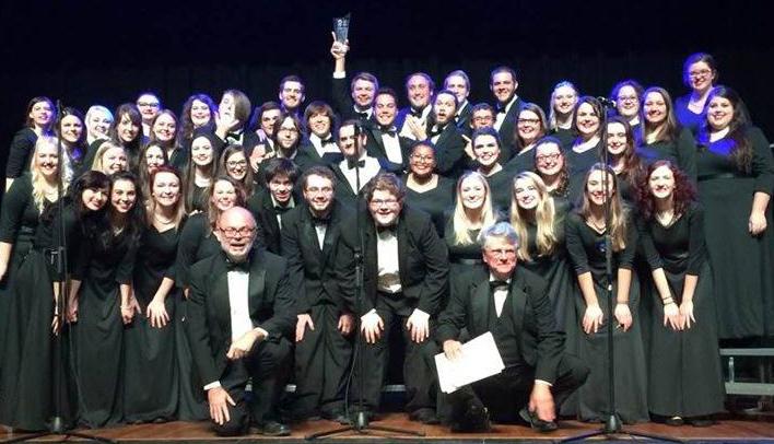 Chorale trophy minus words