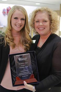 Christine hyde powers award 1 of 1