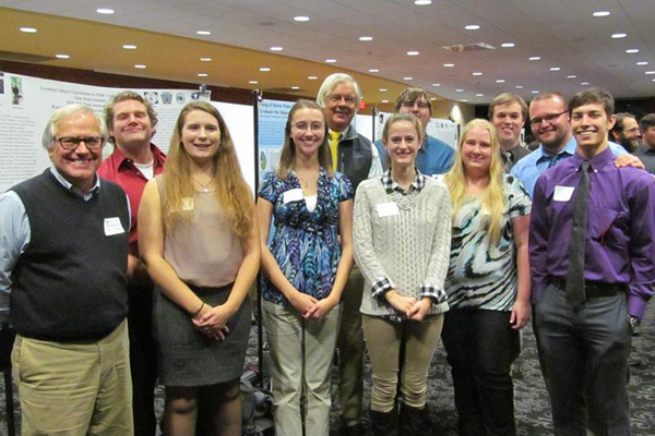 Clean water institute interns at conference web