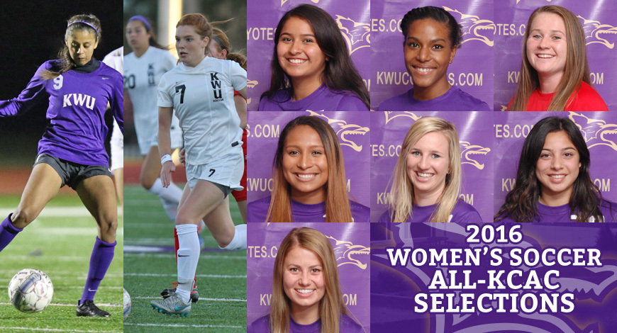 2016 all kcac womens soccer