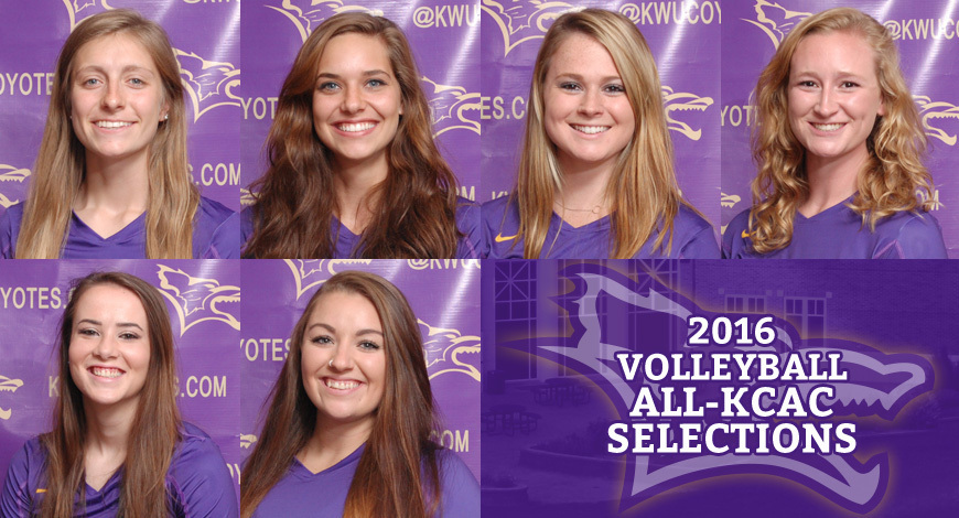 2016 all kcac volleyball