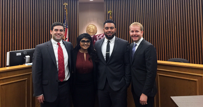 Buffalo mock trial team