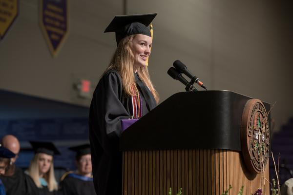 Alyssa predota co valedictorian